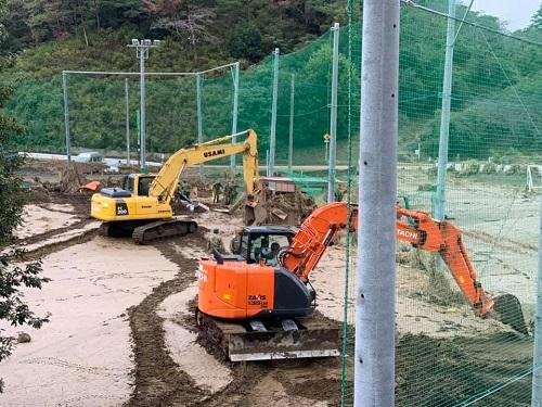 台風19号による被害状況 調査 18日 栃木市06