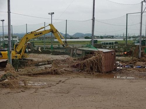 台風19号による被害状況 調査 18日 栃木市09