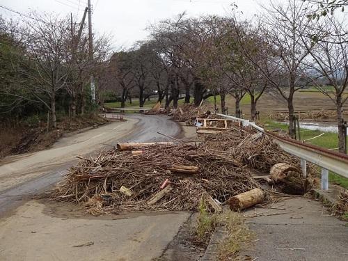 台風19号による被害状況 調査 18日 栃木市13