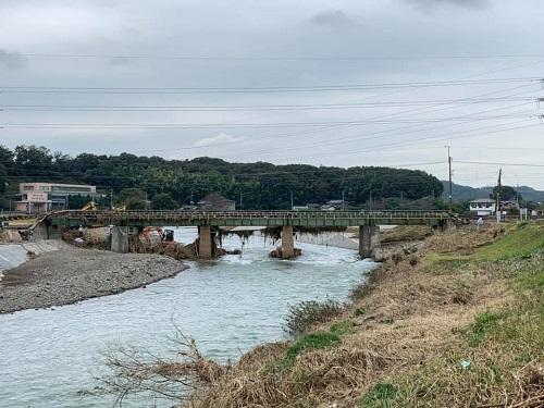 台風19号による被害状況 調査 18日 栃木市15