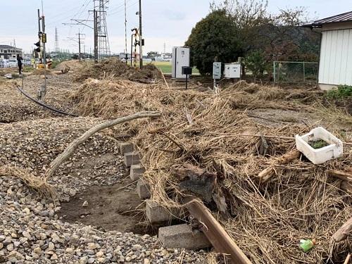 台風19号による被害状況 調査 18日 栃木市18