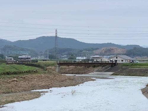 台風19号による被害状況 調査 18日 栃木市20