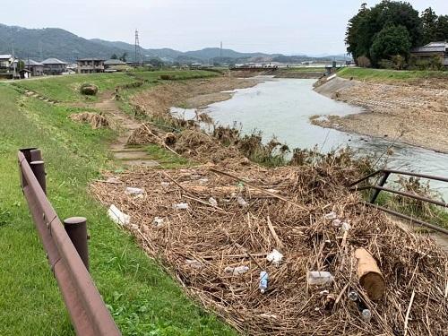 台風19号による被害状況 調査 18日 栃木市21