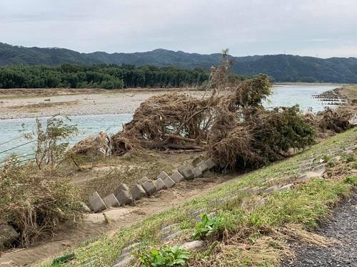 台風19号による被害状況 調査 21日/その1⑤