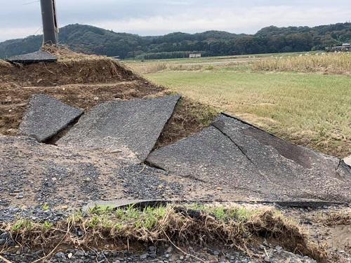 台風19号による被害状況 調査 21日/その1⑥