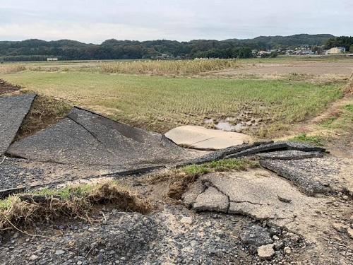 台風19号による被害状況 調査 21日/その1⑦