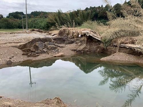 台風19号による被害状況 調査 21日/その2⑥