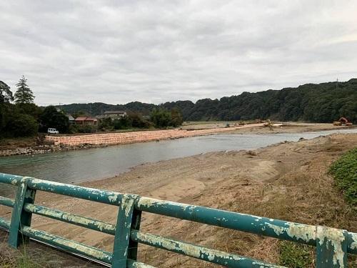 台風19号による被害状況 調査 21日/その3⑤