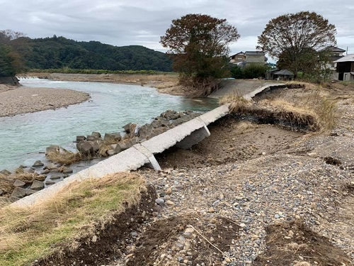 台風19号による被害状況 調査 21日/その3⑩