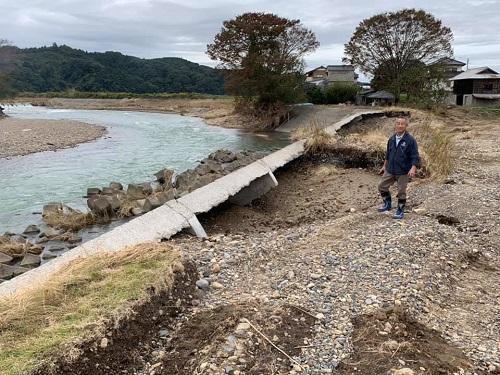 台風19号による被害状況 調査 21日/その3⑪