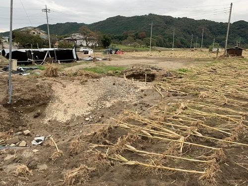 台風19号による被害状況 調査 21日/その4⑤