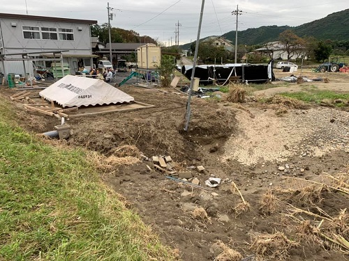 台風19号による被害状況 調査 21日/その4⑥
