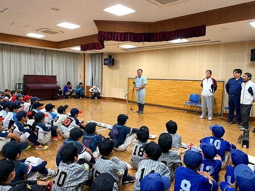 宇都宮西部地区学童野球交流会<第70回 親善大会>閉会式!14日②