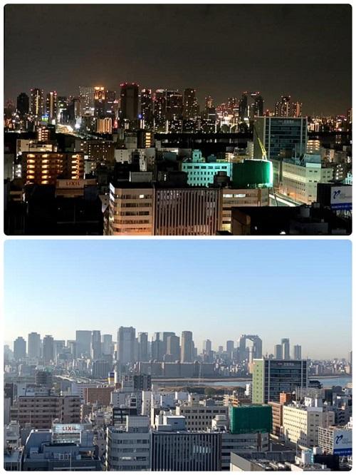 今朝は、大阪から!