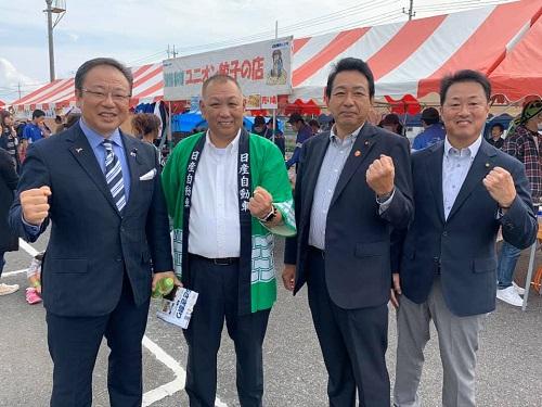<2019 NISSAN しらさぎ祭り>へ!