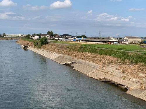 <令和元年 台風19号>による被害状況 現地調査(上三川町/田川)⑫