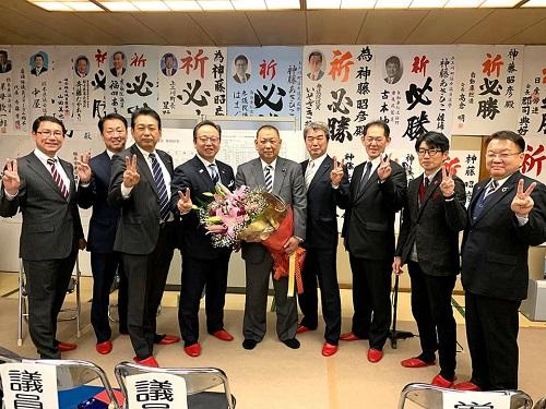 神藤あきひこ上三川町議会議員候補<トップでV2>!②
