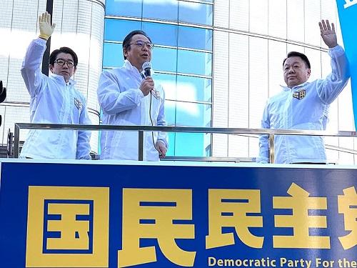国民民主党とちぎ<新春街宣活動>!⑤