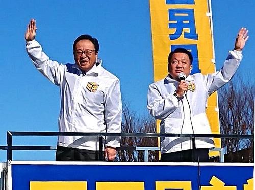 国民民主党とちぎ<新春街宣活動>!⑨