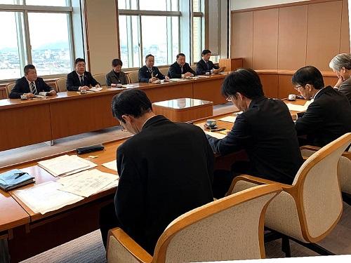 栃木県議会<民主市民クラブ>2020年度 政策推進・予算化要望 知事に申し入れ!②