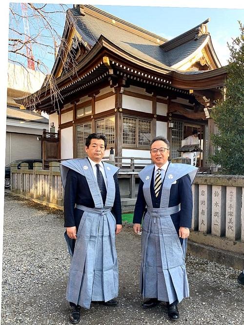 今泉 八坂神社<節分祭>追儺式・福撒き!⑦