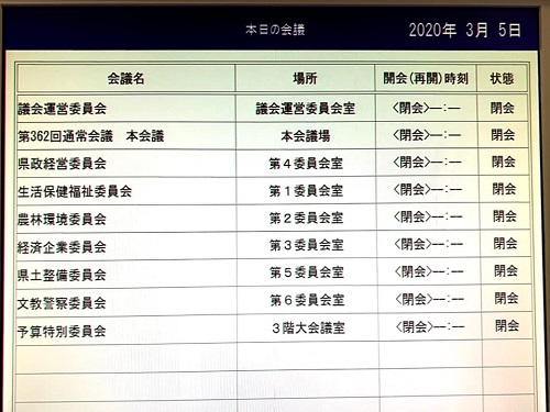 栃木県議会<第362回 通常会議>今年度補正予算案 成立へ!②