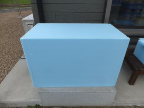 簡易温室の余で作った簡易温室。。。