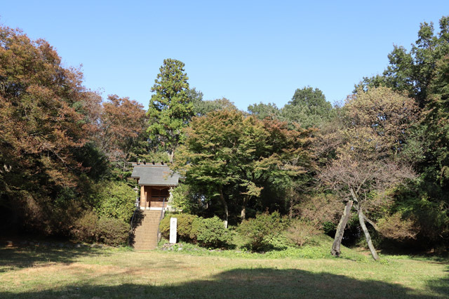 滝山城本丸