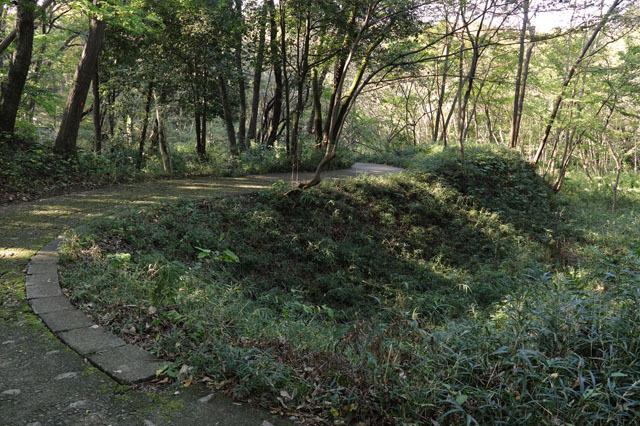 滝山城コの字土橋