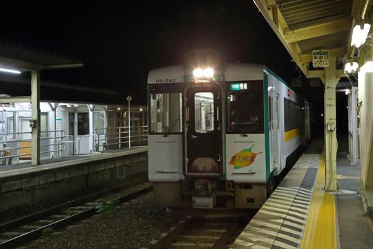 女川行き@前谷地駅