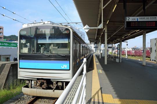 205系3100番台@石巻駅