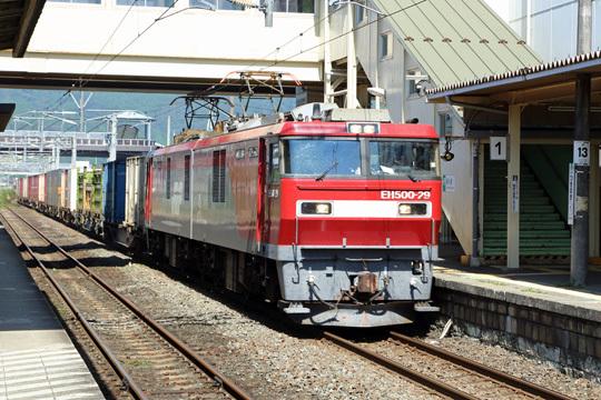 EH500貨物@槻木駅