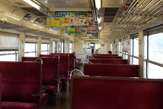 阿武隈急行8100系車内