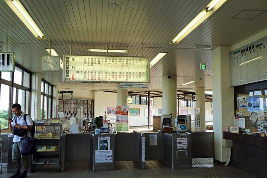 飯坂温泉駅の改札