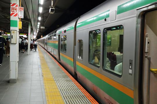 浦和駅に到着