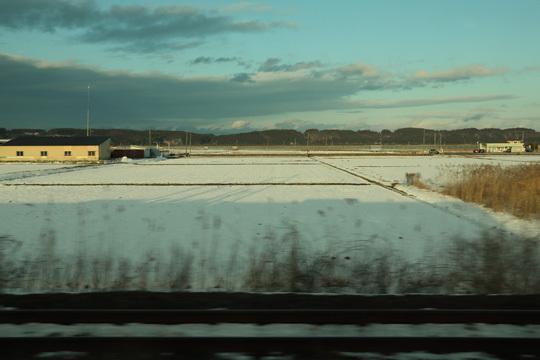雪景色@青い森鉄道