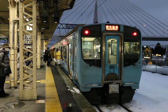 青い森鉄道703系@青森駅