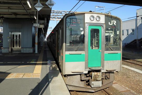 701系@米沢駅