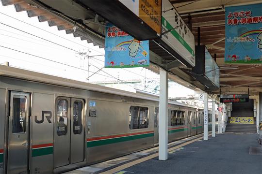 701系@赤湯駅