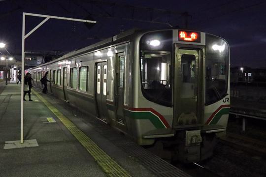 E721系@北山形駅