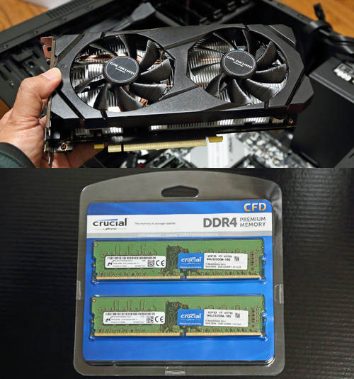 GTX1660Super、DDR4-3200(32GB)