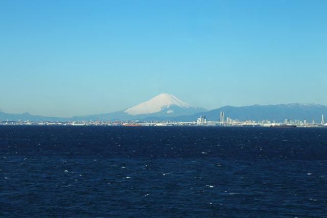 富士山@海ほたるより