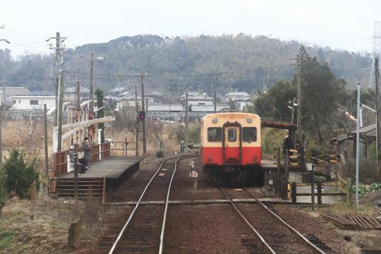 小湊鉄道海士有木駅