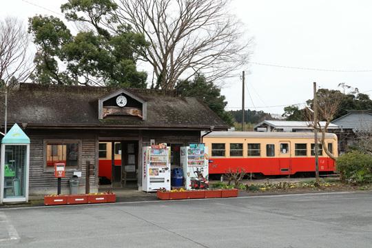 上総中野駅の駅舎