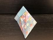 折り紙テトラパック①