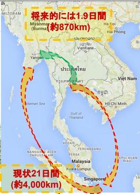 2019-11-1第二タイミャンマー友好橋の効果