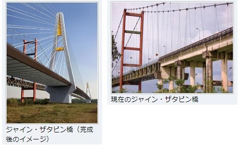 2019-11-4ミャンマー各地で進む橋梁整備シャイン・ザタピン橋