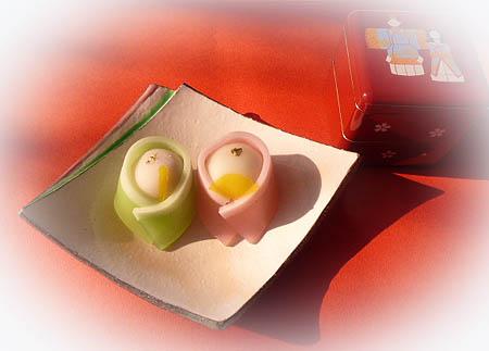 0221和菓子・お雛さま