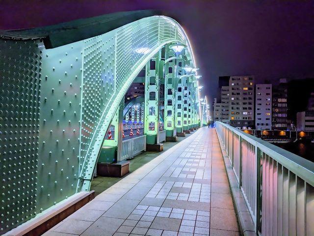 夜景 googlephoto 厩橋