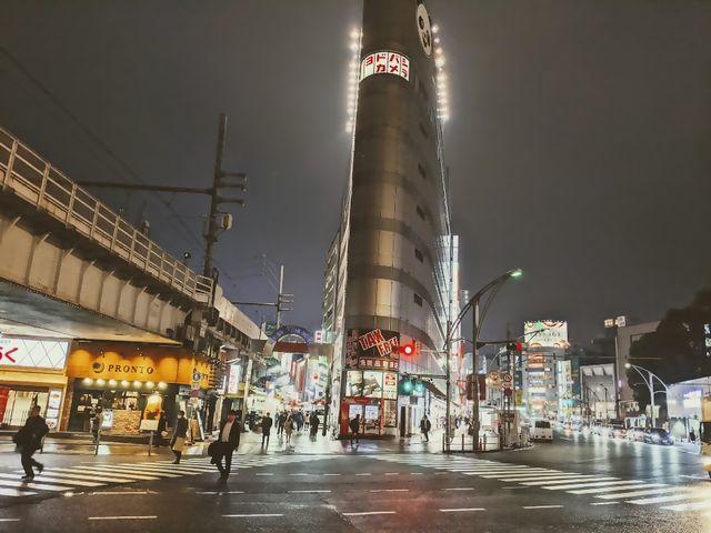 夜景 上野ヨドバシカメラ